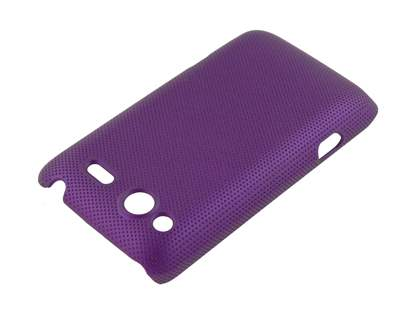 HTC Salsa Micro Mesh Case - Grape Purple