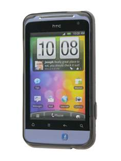 HTC Salsa TPU Gel Case - Diamond Grey