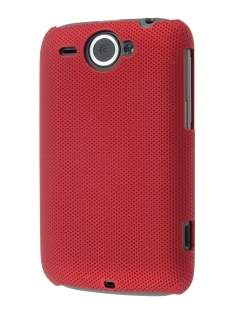 Dream Mesh Case for HTC Wildfire G8 - Red Hard Case