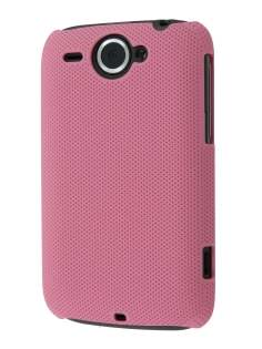 Dream Mesh Case for HTC Wildfire G8 - Baby Pink Hard Case