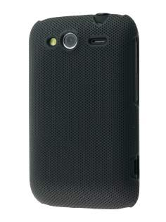 Micro Mesh Case for HTC Wildfire S - Classic Black Hard Case