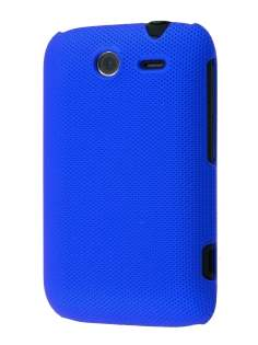 Micro Mesh Case for HTC Wildfire S - Navy Blue Hard Case