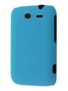 Micro Mesh Case for HTC Wildfire S - Sky Blue Hard Case