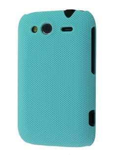 Micro Mesh Case for HTC Wildfire S - Bondi Blue Hard Case