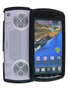 HoneyComb Case for Sony Ericsson Xperia Play 4G - Black Hard Case
