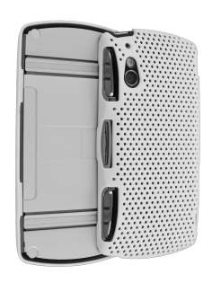 Sony Ericsson Xperia Play 4G HoneyComb Case - White