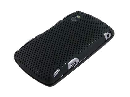 HoneyComb Case for Sony Ericsson Xperia Play 4G - Black