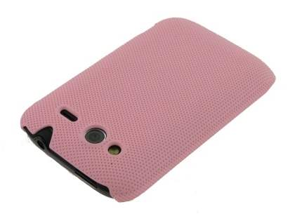 Micro Mesh Case for HTC Wildfire S - Light Pink