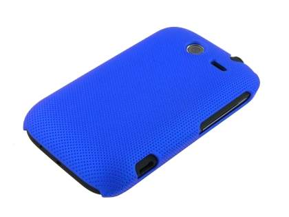 HTC Wildfire S Micro Mesh Case - Navy Blue