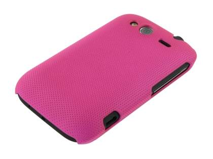 HTC Wildfire S Micro Mesh Case - Cerise Pink