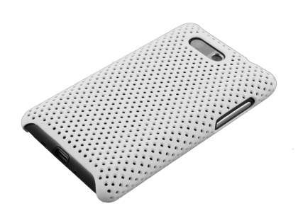 HTC Aria Slim Mesh Case - White