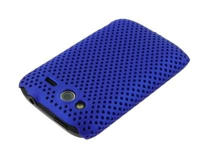 Slim Mesh Case for HTC Wildfire S - Navy Blue