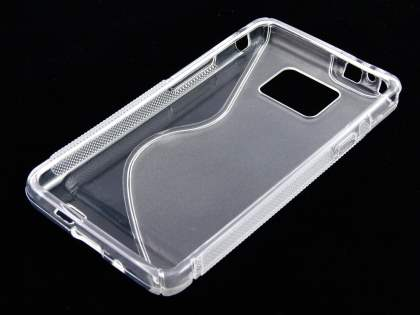 Samsung I9100 Galaxy S2 Wave Case - Clear/Frosted Clear
