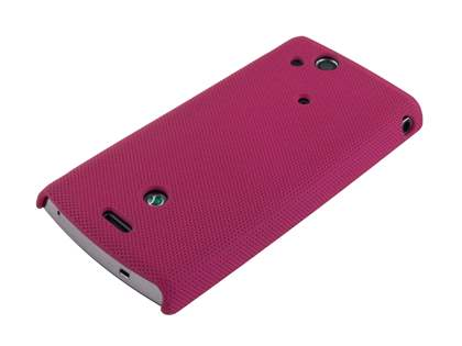 Dream Mesh Case for Sony Ericsson XPERIA Arc/Arc S - Rose Pink