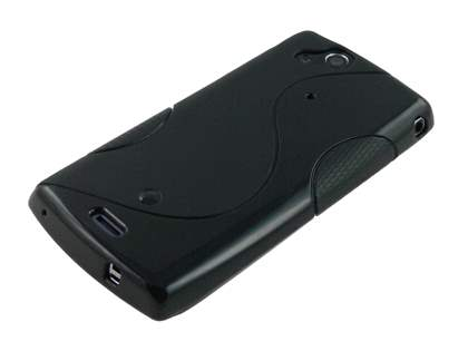 Sony Ericsson XPERIA Arc/Arc S Wave Case - Frosted Black