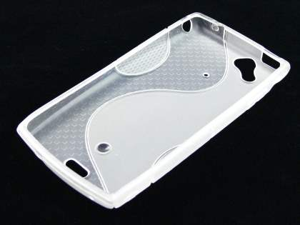 Sony Ericsson XPERIA Arc/Arc S Wave Case - Frosted Clear