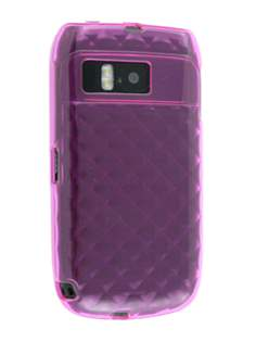 TPU Gel Case for Nokia E6 - Diamond Pink Soft Cover