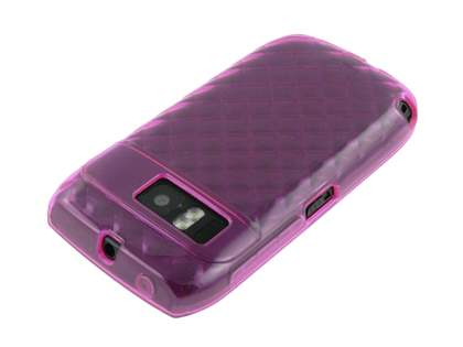 Nokia E6 TPU Gel Case - Diamond Pink