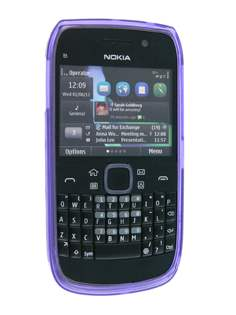 Nokia E6 TPU Gel Case - Diamond Purple