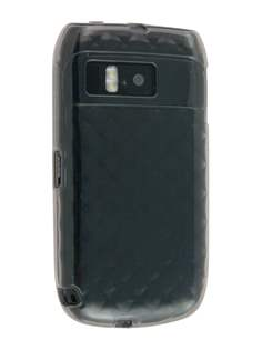 TPU Gel Case for Nokia E6 - Diamond Grey Soft Cover