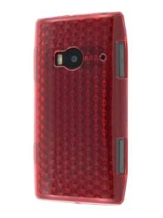 TPU Gel Case for Nokia X7 - Diamond Red Soft Cover