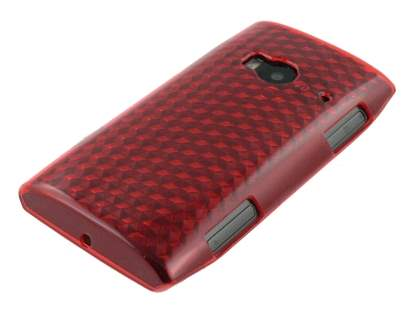 Nokia X7 TPU Gel Case - Diamond Red
