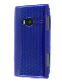 TPU Gel Case for Nokia X7 - Diamond Blue Soft Cover