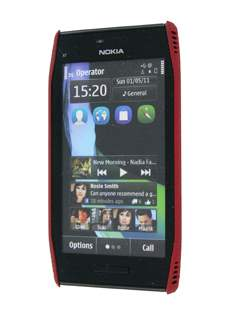 Nokia X7 Dream Mesh Case - Burgundy Red