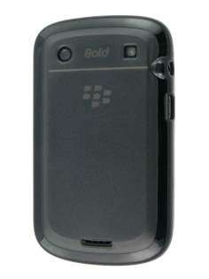 BlackBerry Bold 9900 Dual-Design Case - Black/Grey Impact Case