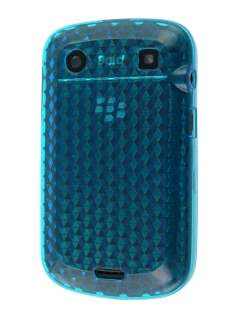 BlackBerry Bold 9900 TPU Gel Case - Diamond Blue