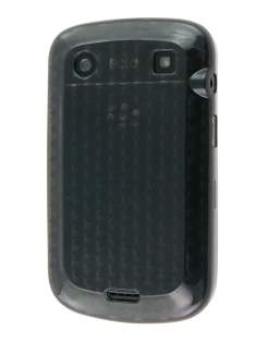 TPU Gel Case for BlackBerry Bold 9900 - Diamond Grey Soft Cover