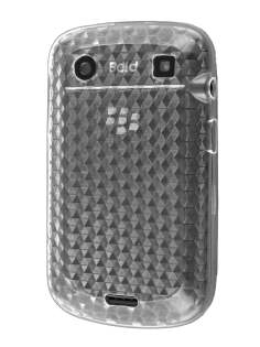 TPU Gel Case for BlackBerry Bold 9900 - Diamond Clear Soft Cover
