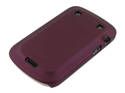 ROCK Nakedshell Case for BlackBerry Bold 9900 - Burgundy Red