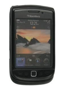 BlackBerry Torch 9810/9800 Dual-Design Case Without Front Screen Cover - Black/Grey