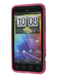 HTC EVO 3D TPU Gel Case - Pink