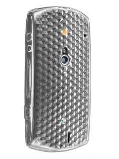 TPU Gel Case for Sony Ericsson Xperia neo - Diamond Clear Soft Cover