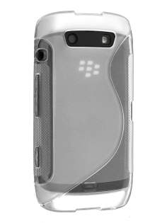 Wave Case for BlackBerry Torch 9860 - Frosted Clear