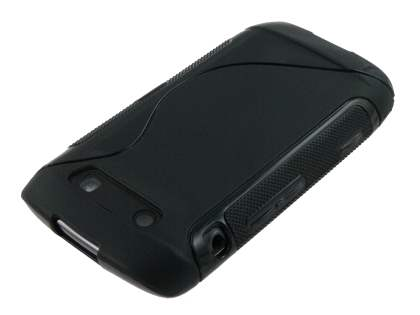Wave Case for BlackBerry Torch 9860 - Black