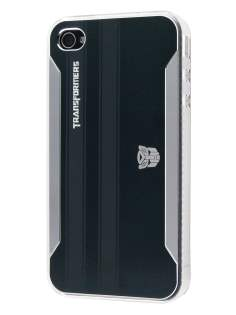Transformers Case for iPhone 4 only - Soul Black Hard Case