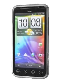 HTC EVO 3D TPU Gel Case - Diamond Clear