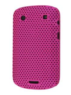 BlackBerry Bold 9900 Slim Mesh Case - Pink