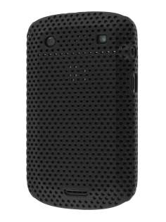 Slim Mesh Case for BlackBerry Bold 9900 - Black Hard Case