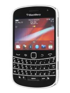BlackBerry Bold 9900 Slim Mesh Case - White