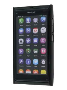 Brushed Aluminium Case for Nokia N9 - Night Black