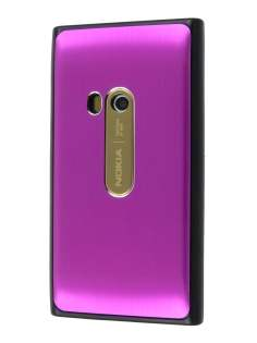 Nokia N9 Brushed Aluminium Case - Hot Pink