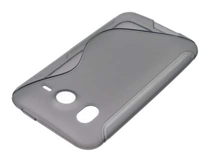 HTC Desire HD Wave Case - Frosted Grey