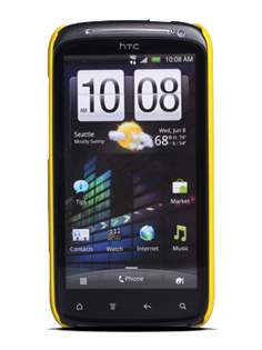 ROCK Nakedshell Colour Case for HTC Sensation - Glossy Yellow