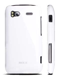 ROCK Nakedshell Colour Case for HTC Sensation - Glossy White Hard Case
