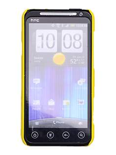ROCK Nakedshell Colour Case for HTC EVO 3D - Glossy Yellow