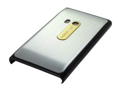 Brushed Aluminium Case for Nokia N9 - Silver